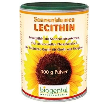 Sonnenblumenlecithin Pulver