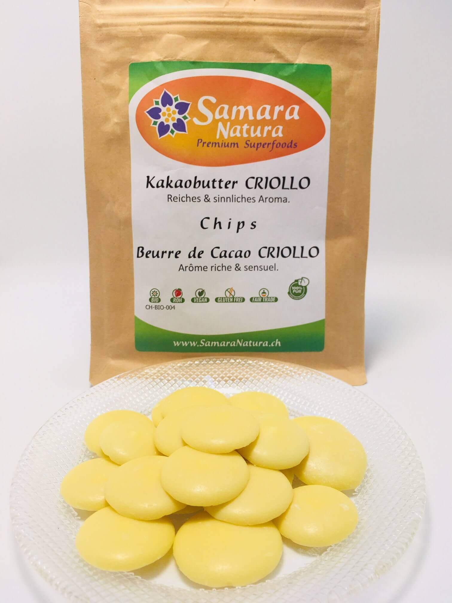 Kakaobutter Criollo Chips
