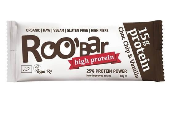 ROO'BAR Protein Choc Chip & Vanilla