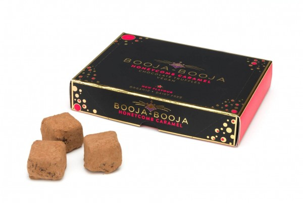 Honeycomb Caramel Trueffel Pralinen Booja-Booja Bio
