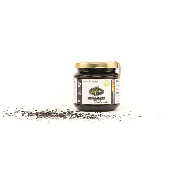 Sesammus schwarz Tahini Bio
