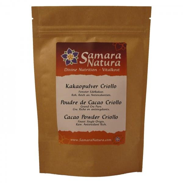 Kakaopulver Criollo Beutel