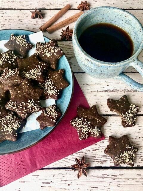 Glutenfreie Weihnachtsguetzli mit Hanf