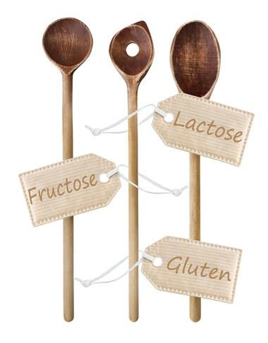 Vierschiedene Arten der Nahrungsmittelunvertraeglichkeit