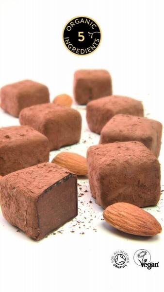 Mandel-Caramel Trüffel Pralinen Booja-Booja Bio