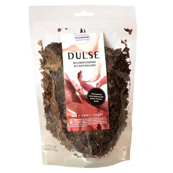 Bio Dulse Flocken (Lappentang, rote Algen), ALGAMAR 100g