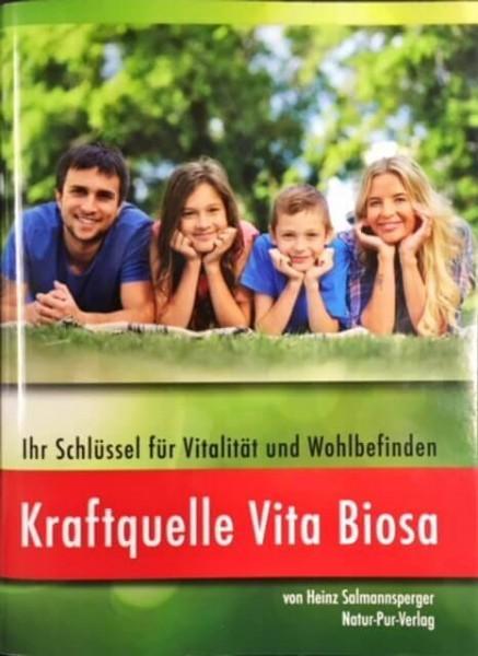 Buch Kraftquelle Vita Biosa Vorderseite