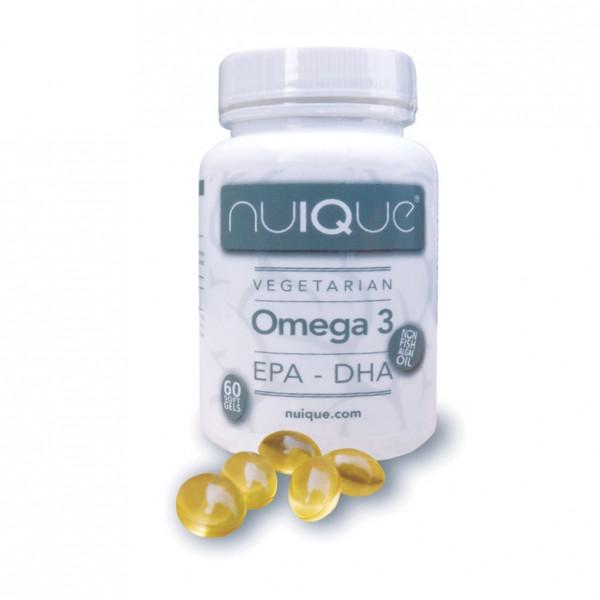 Nuique Omega 3 EPA + DHA (60 Kapseln)