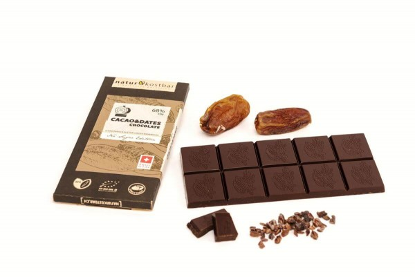 Cacao & Dates Bean-to-Bar Schokolade Naturkostbar