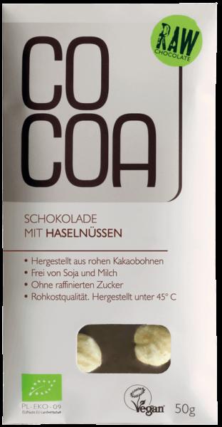 COCOA Chocolat aux noisettes