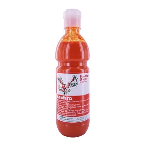 Seabuckthorne Juice raw 5dl