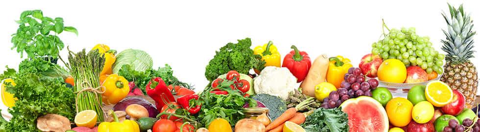 Eisenhaltiges Obst, Gemüse und Gewuerze